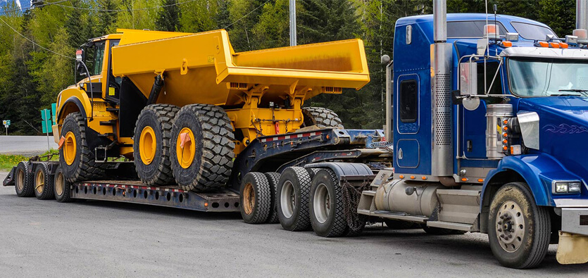 How to Transport Heavy Equipment