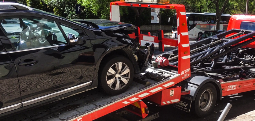 Getting Your Car Towed After An Accident