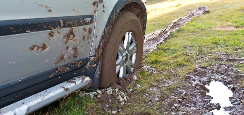 Simple Tools To Get Your Vehicle Unstuck From Mud, Snow And Sand