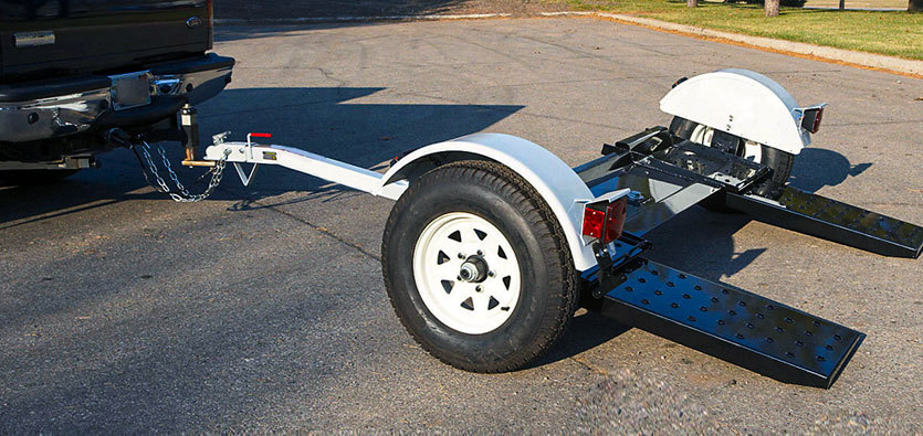 How To Tow A Car Using A Tow Dolly