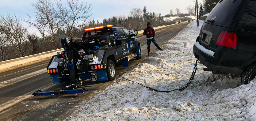 Tow Trucks Used For Vehicle Recovery