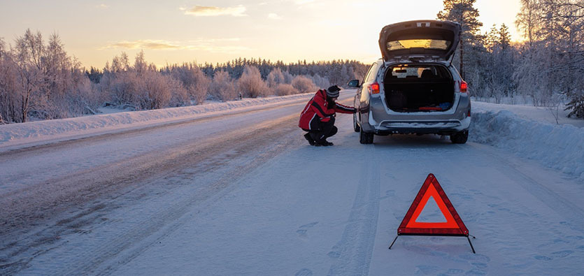 Tips For Surviving A Vehicle Breakdown In Winter