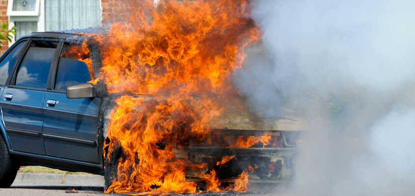 Five Most Common Causes Of Vehicle Fires