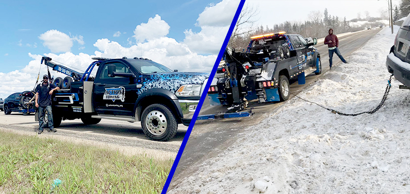 The Different Requirements Of A Towing Service VS A Recovery Service